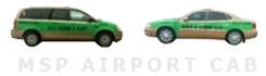 Gold & Green Taxi Cab and Car Service Logo